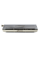 Harmo Admiral 64 - 16 hole chromatic harmonica. Brass comb professional high end harmonica