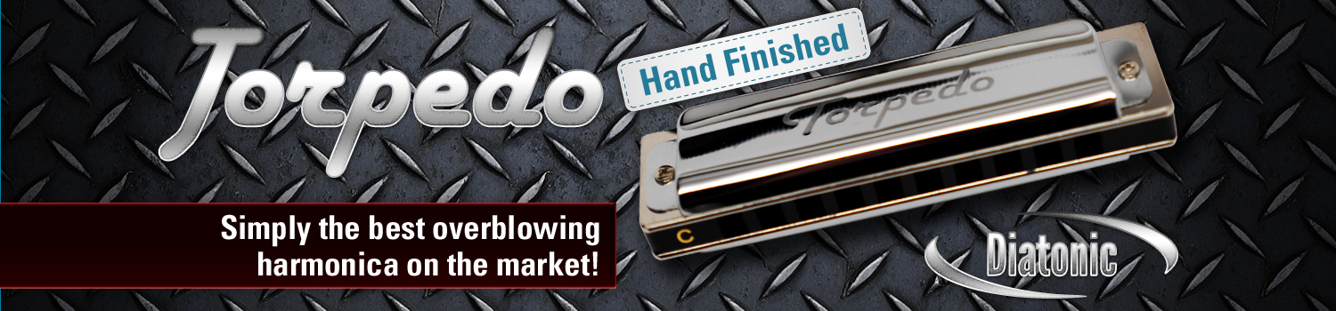 Harmo Torpedo harmonica optimized for overblowing