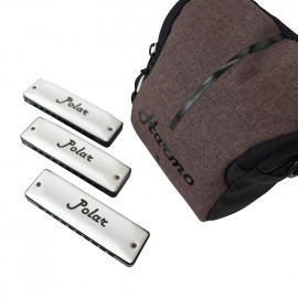 Harmo Polar harmonica blues set 3